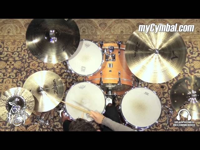 Zildjian 11 K Custom Hybrid Splash Cymbal - 410g - Played by Josh Kottke (K1211-1052416C)