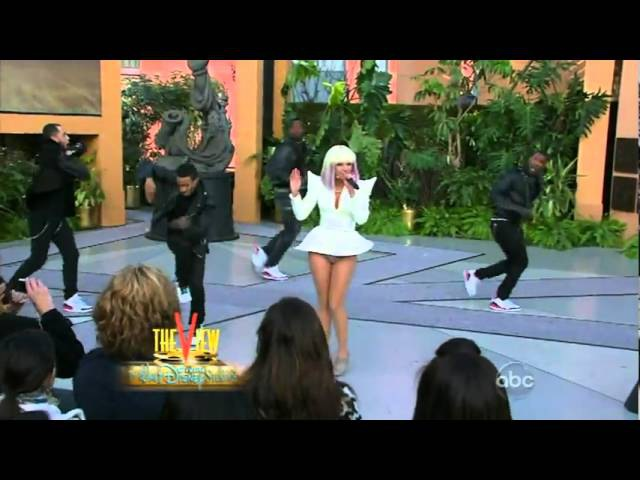 Lady Gaga Interview Just Dance, The View 03/10/2009