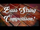 BASS STRINGS: Stainless Steel vs Nickel vs Half Round vs Flatwound!