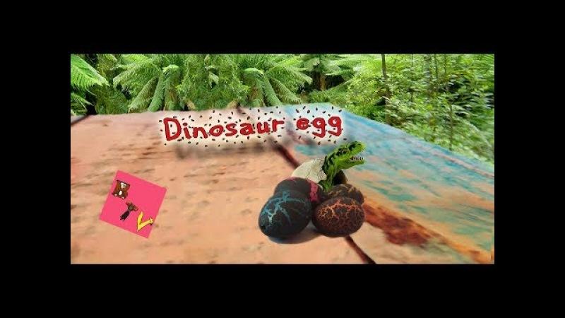 Выращиваем дома динозавров из яиц! Игрушки растут в воде! Dinosaur Egg - growing pet magic eggs