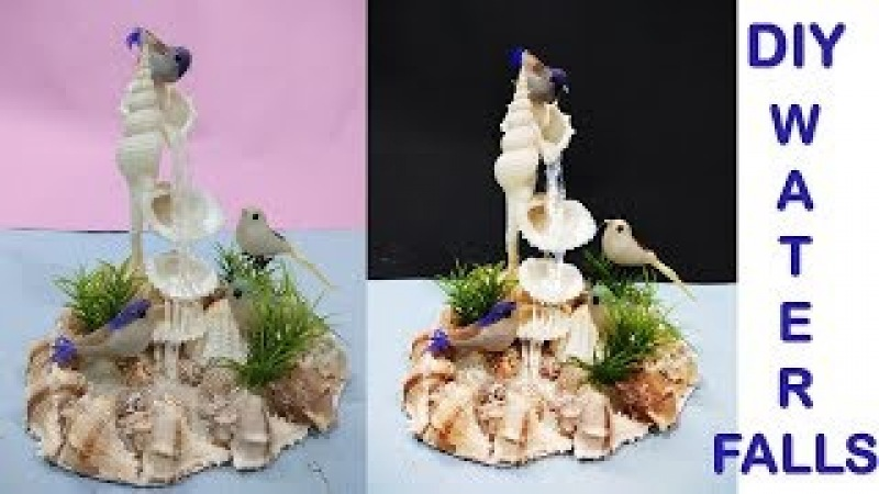 How to make Waterfall showpiece    diy craft ideas    Home decorate ideas