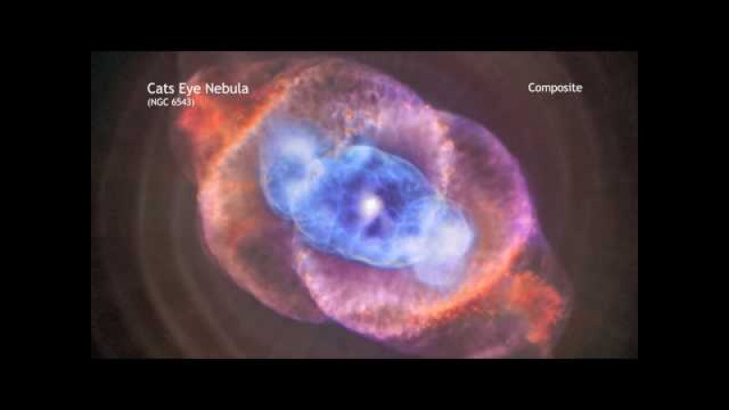 Cat's Eye Nebula in 60 Seconds Plus (HIGH DEFINITION)