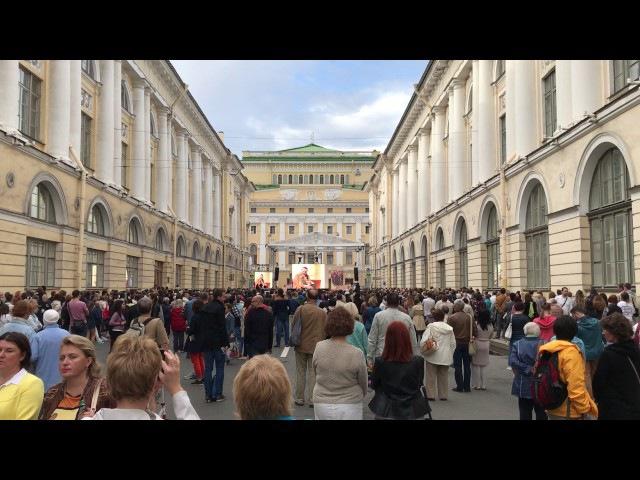 Фестиваль «Опера - всем» на улице Зодчего Росси