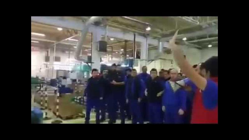 Metal fabrikalarında grev ateşi CENGİZ MAKİNA (İstanbul)