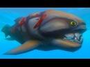 Я БОЛЬШАЯ ХИЩНАЯ РЫБА и меня съело МОРСКОЕ ЧУДОВИЩЕ симулятор маленькой рыбки от ФГТВ