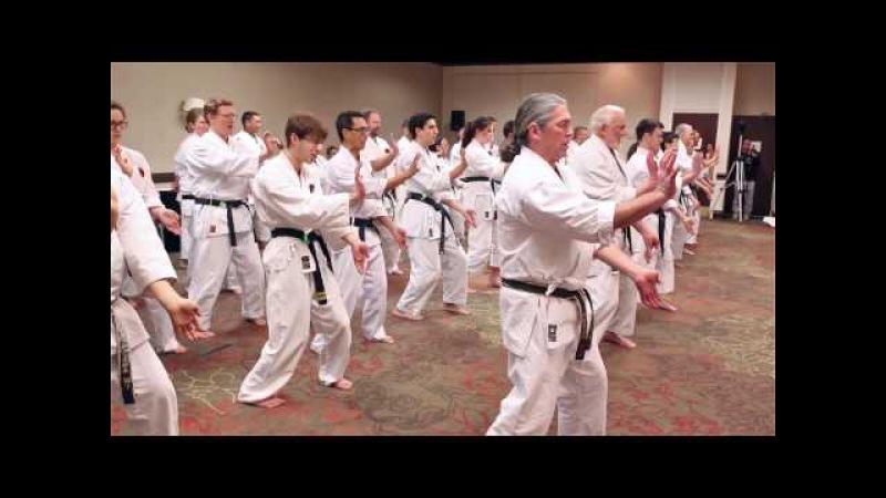 Okinawa Masters Seminar 2017 Masters demonstrations