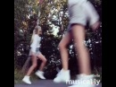 "Iza Elle on Instagram: ""New shuffle up on musical.ly, hope you like it😍 Do you like to dance? twins sisters dance shuffle summer love styl..."