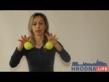 Упражнения с мячиками от Екатерины Буча