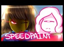 LV Frisk Speedpaint | Collab with Kitmast! 26