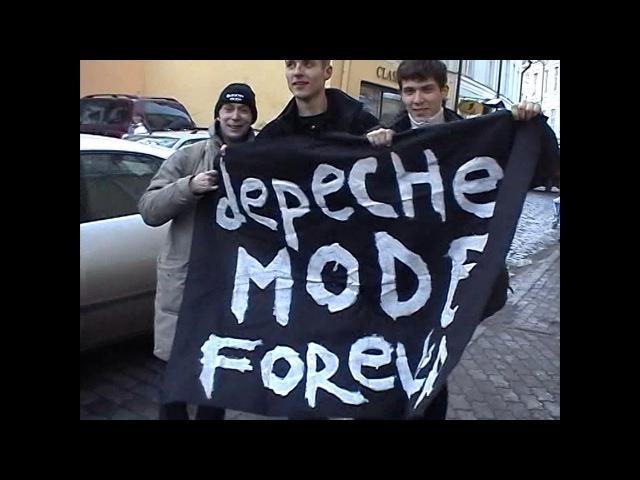 Russian Depeche Mode fans. Tallin. Estonia 16.03.2006