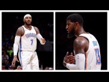 Carmelo Anthony &amp Paul George Bring The Thunder In Preseason Debut October 3rd, 2017