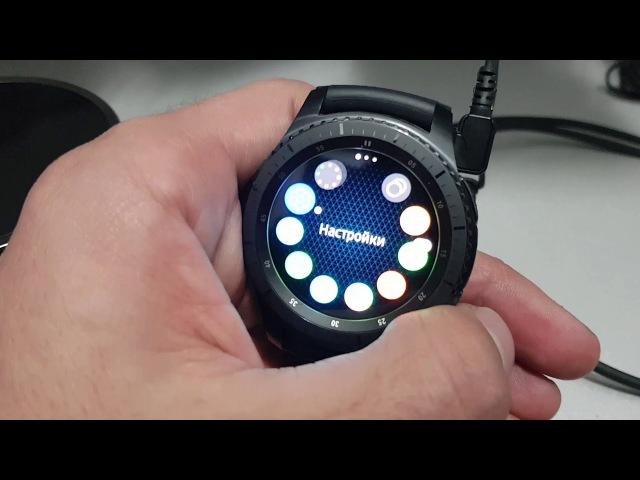 Обзор Samsung Gear S3 Frontier часы за 19.000тысяч