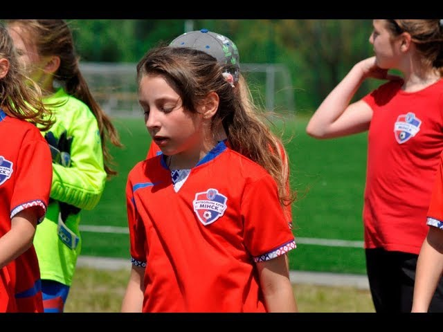 Girls against Boys. Football Friendly. FC Minsk 06 - Tornado 07 3-0 Part1