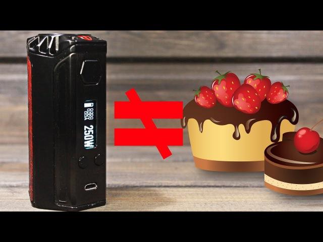 ▲DNA не торт или обзор на Think Vape Finder DNA 250▼