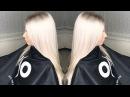 Секреты чистого платинового блонда Чистка базы исправление домашнего окрашивания из желтого в блонд