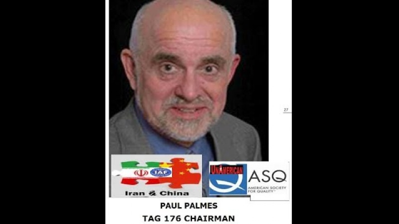 Paul Palmes Tag 176 Chairman Requests ASQ Work With Daryl Guberman CEO