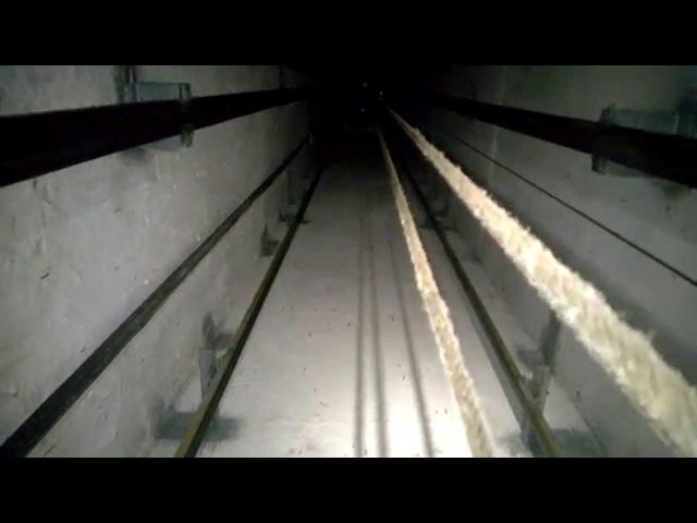 Адские звуки в шахте лифта