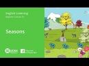 Learn English Listening | Beginner - Lesson 23. Seasons