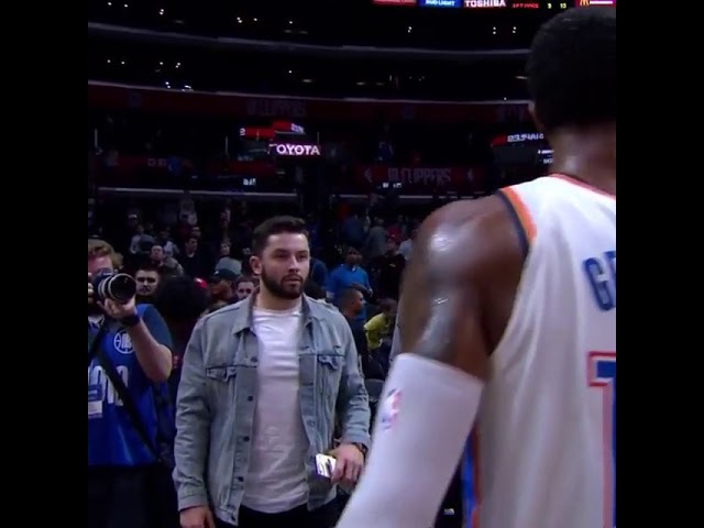 Paul George Doesn't Recognize Baker Mayfield LOL MAYFIELD GETS SWERVED