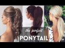 How to: The PERFECT PONYTAIL Tutorials Compilation 2