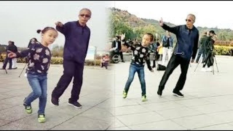 Bước nhảy mềm mại của ông lão cùng các tài năng nhí thiên tài