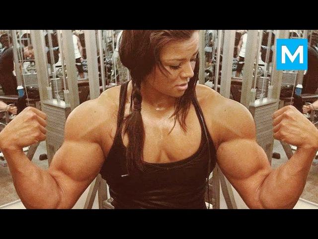 SUPER STRONG GIRL - Sophie Arvebrink   Muscle Madness