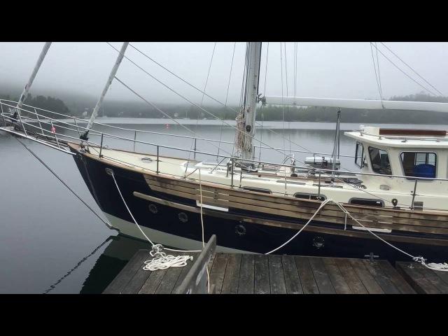 ЯХТА РЫБАК Diesel Duck 37 Дизельная яхта траулера и паруса (SOLD: Fisher 37 Chris Power - Sunnybrook Yachts)