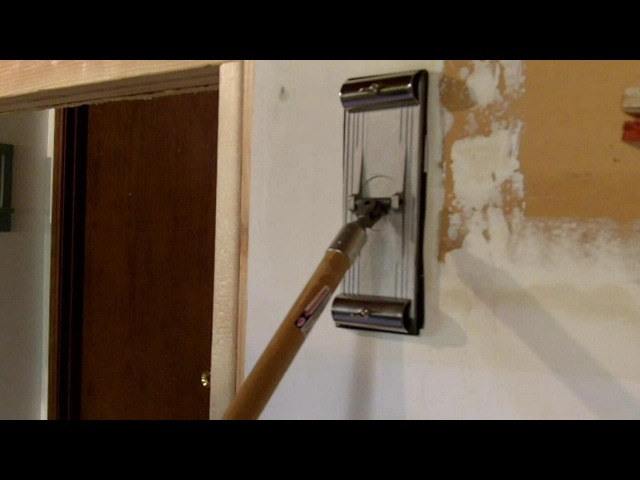 How to Sand Drywall Using a Pole Sander Video