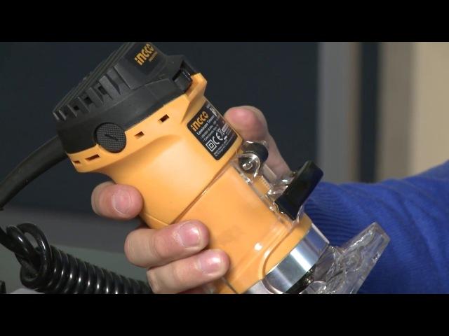 Распаковка кромочного фрезера INGCO Industrial PLM5502