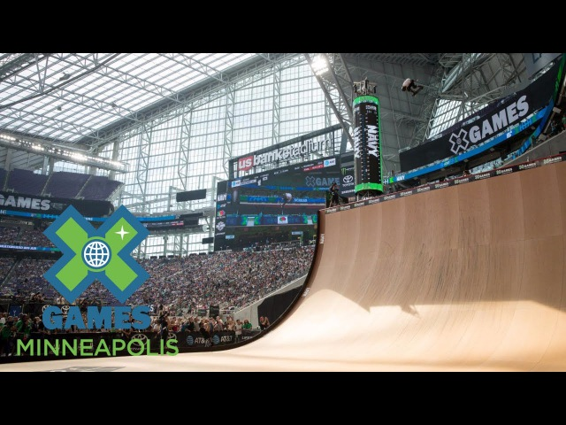 Tom Schaar wins Skateboard Big Air silver | X Games Minneapolis 2017