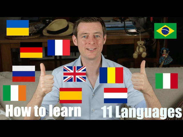 European polyglot speaks in 11 languages about how to become fluent   How to learn languages