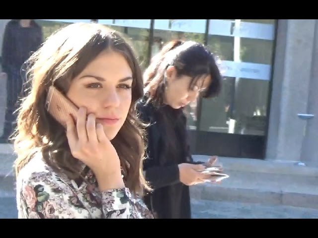 Morgane POLANSKI @ Paris Fashion Week 5 octobre 2016 défilé Miu Miu