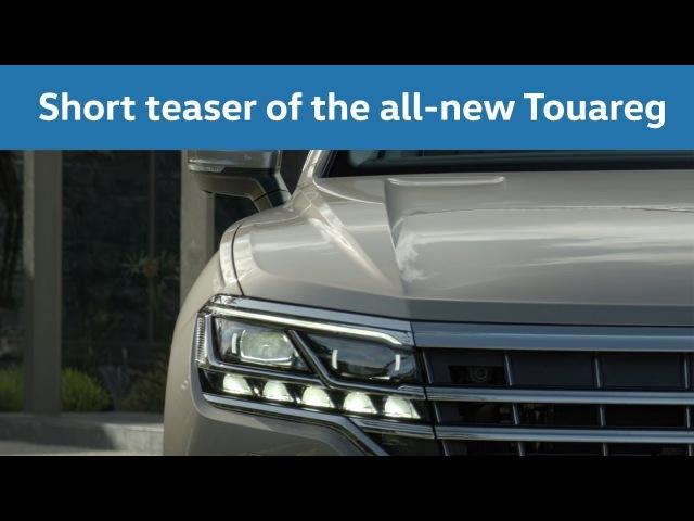 The all-new Volkswagen Touareg / Der neue Volkswagen Touareg - Design Highlights