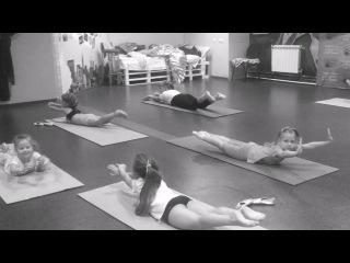 bellydance school children gymnastics of famous bellydancer GIMATDINOVA LILIYA