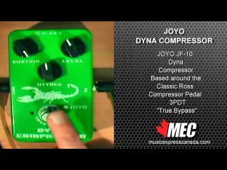 Joyo JF-10 Dynamic Compressor