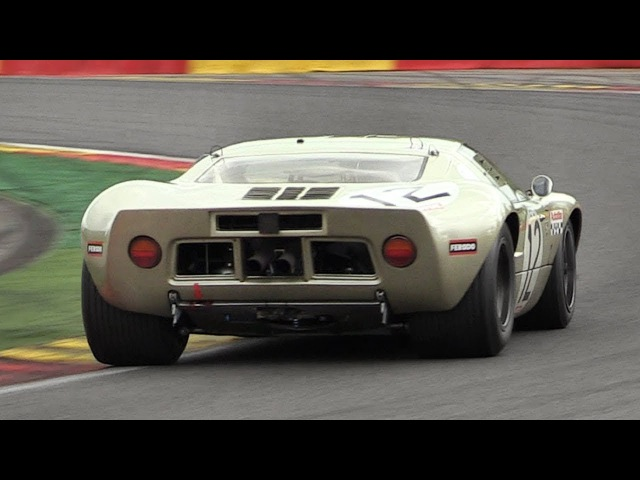 Ford GT40 Mk1 Sound On Track! - Accelerations, Downshifts Fly Bys