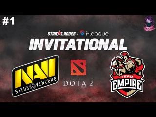 Na'Vi vs Empire #1 (bo3) SL i-League Invitational Season 3