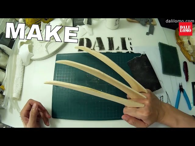 DIY Wolverine Claws Version.2 - X-Carve Plywood Prop How to