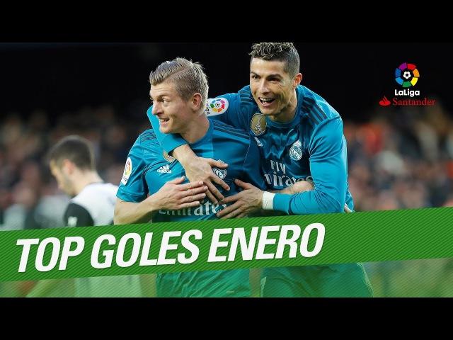 TOP Goles Enero LaLiga Santander 2017 2018