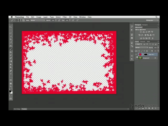 Photoshop CS6 tutorial How to create custom borders | lynda.com