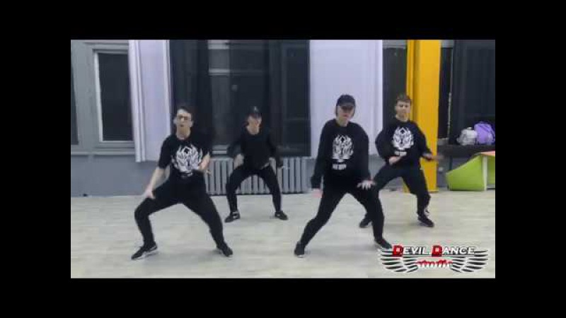 Jah Khalib - Тату на твоём теле / choreo by Aleksa Oshurko / Devil Dance Studio : Part 2