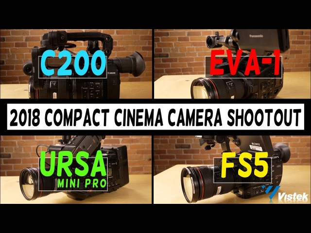 C200 vs EVA-1 vs URSA Mini Pro vs FS5 | Compact Cinema Camera Shootout