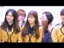 · Fancam · 180208 · OH MY GIRL (Arin) · Церемония выпуска Арин из школы School of Perfoming Arts Seoul ·