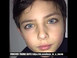 FOREVER YOUNG BOYS. Unreal beautiful eyes 2