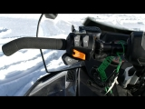 Snowmobile Lynx Adventure GT 900, review and test drive
