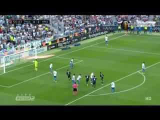 Малага 0:2 Реал Мадрид | Гол Бензема