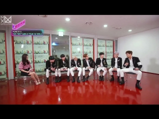 [Рус.саб][30.06.2017]Interview with MONSTA X in 1st world concert [KBS World Idol Show K-RUSH]