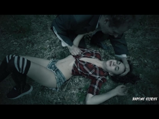 #PRon Halloween BDSM story in the forest with German teen Khadisha Latina PT 1 (Bad Time Stories / 30/10/2017)