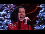 Katy Perry - Unconditionally (live acoustic on Ellen Show 2013)