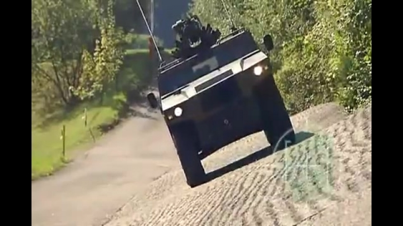 General Dynamics European Land Systems - Mowag Eagle IV Armored Vehicle Колесная [480p]